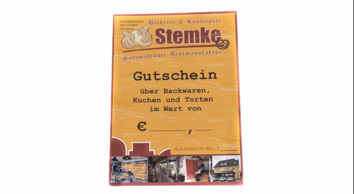 Gutschein 10€ - Bakeronline