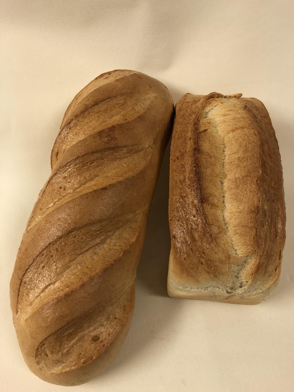 Weißbrot rund oder eckig (500g) - Bakeronline